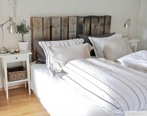 Bed Van Pallets : Diy ideas best use of cheap pallet bed frame wood pallet