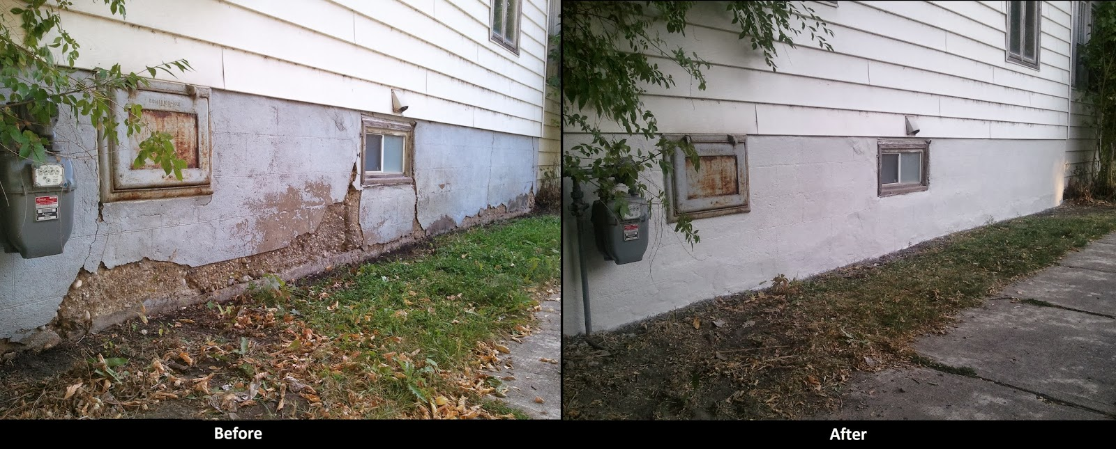 Winnipeg Concrete & Stucco Repair: Exterior Foundation Repair
