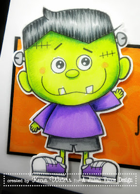 A Jillian Vance Design, Whimsie Doodles, Halloween, Kecia Waters, Copic markers