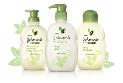 johnsons natural products Johnsons Natural Baby Skin Care Review