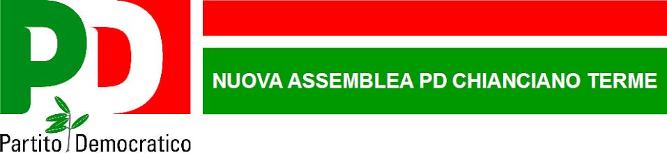 Nuova Assemblea Partito Democratico Chianciano Terme