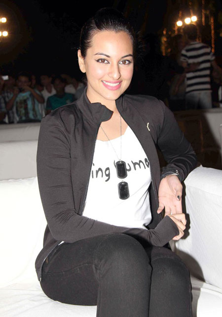 Sonakshi Sinha Pics from an event in Wstern Dress