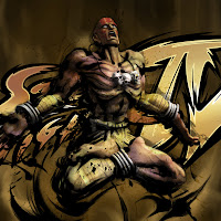 Super Street Fighter IV iPad and iPad 2 Wallpapers
