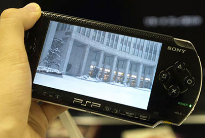 how to fix a psp console that will not play mp4 movie