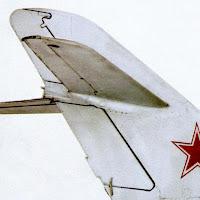 Киль и стабилизатор МиГ-17