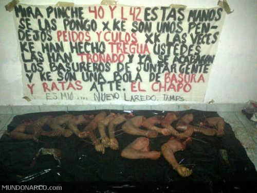 El Chapo Guzmán comienza limpia de Los Zetas en Tamaulipas