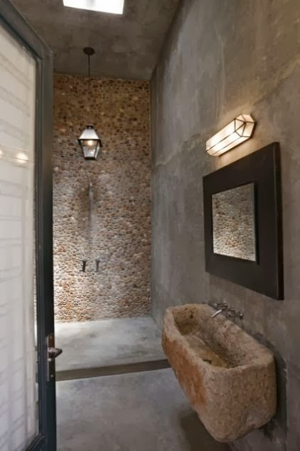 Baños Rusticos Originales:Baños originales y con estilo