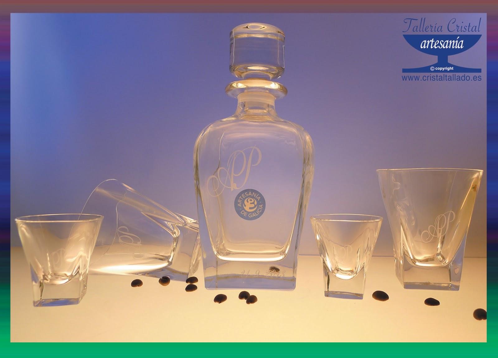 Taller a cristal fusion 13 for Vasos chupito personalizados