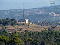 L'Oliva i Sant Genís de Masadella tot baixant de Cal Marianó