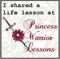 guest post at Princess Warrior Lessons