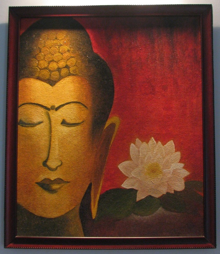 Buddha painting on Canvas