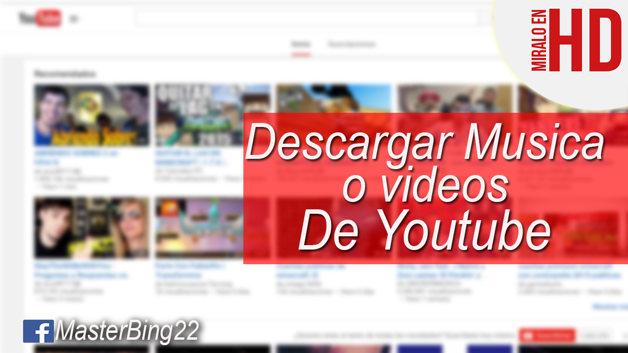 descargar musica y videos gratis