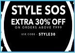 Jabong Style SOS : Get  Extra 30% OFF on Rs.999 | 1 Lakh+ Branded Products