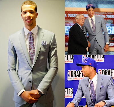 Michael Carter-Williams at the 2013 NBA Draft