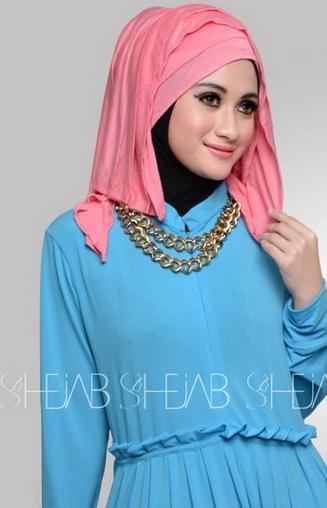Aneka Model Hijab Modern Pesta Masa Kini