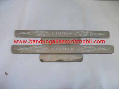 Sillplate Samping Stainless GRAND LIVINA