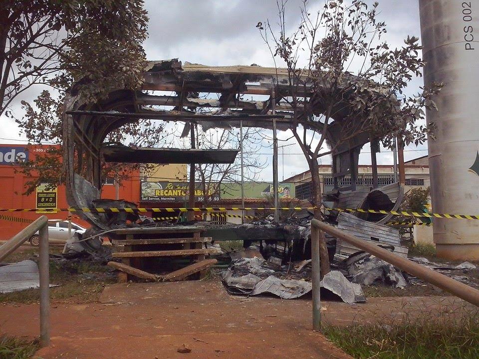 Posto da PM do Campo Central é incendiado pela 2ª vez