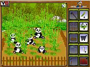 chơi game nông trại gấu trúc