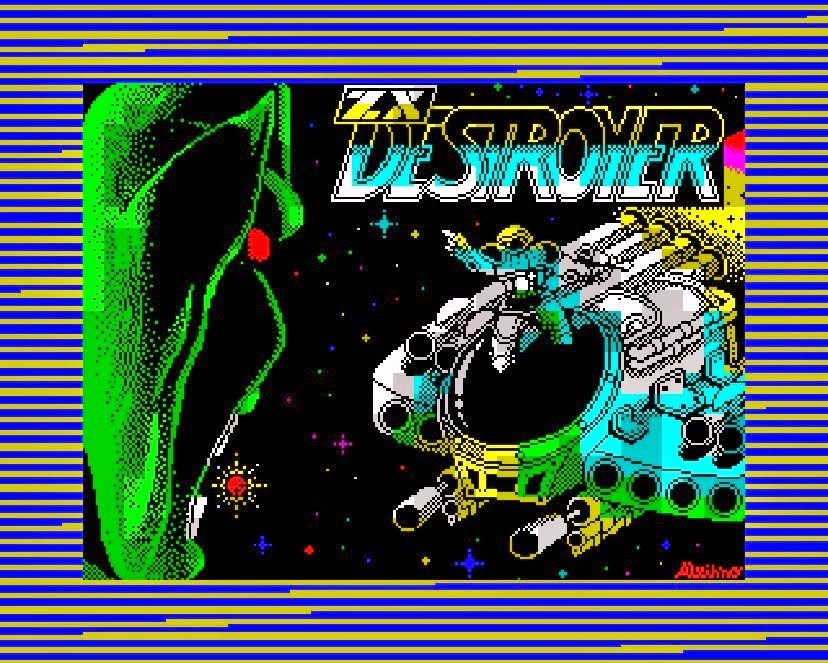 ZX Destroyer de Retrobytes productions: