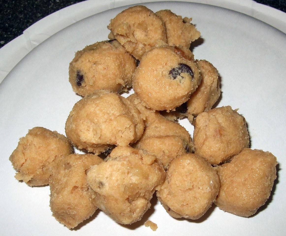 Cookie dough balls.