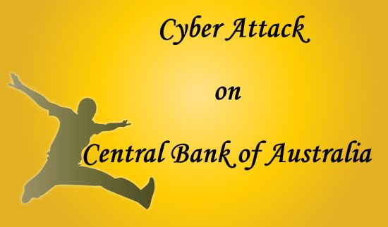 cyber attack on central bank of australia