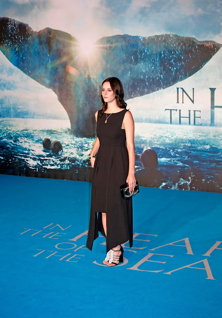Actress, @ Kaya Scodelario - 'In The Heart Of The Sea' premiere in London
