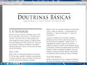 CLIQUE E APRENDA AS DOUTRINAS BÁSICAS