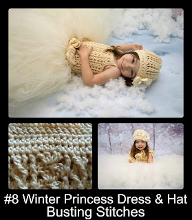 http://www.ravelry.com/patterns/library/winter-princess-dress-and-hat-2-to-4-years