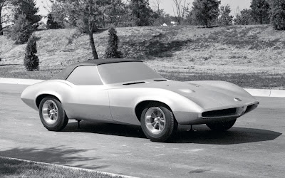 1965 Pontiac Banshee model car