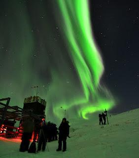 Auroras borealis 15 de Febrero 2012