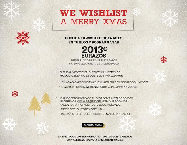 Feliz Año 2013! y mi wishlist de la FNAC