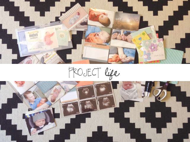Project Life Scrapbook by Lesley Myrick Art and Design