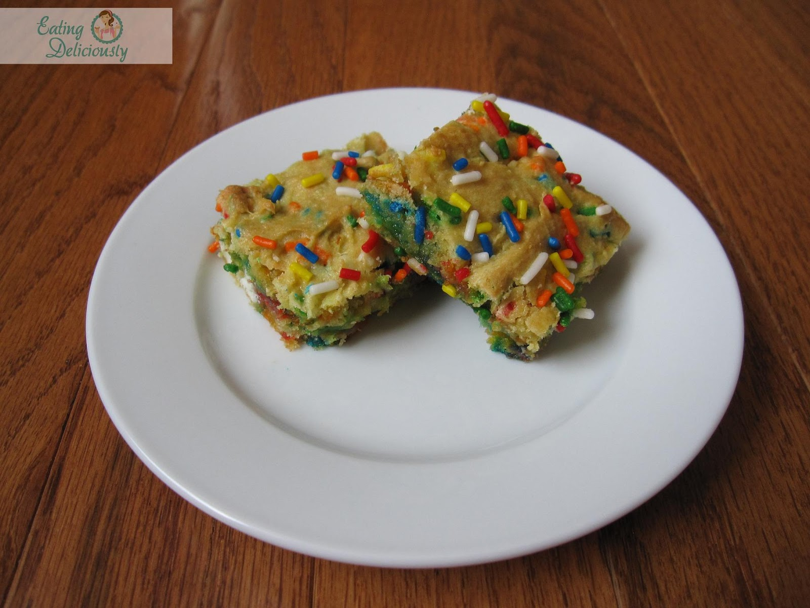 Cake Mix Funfetti Bars