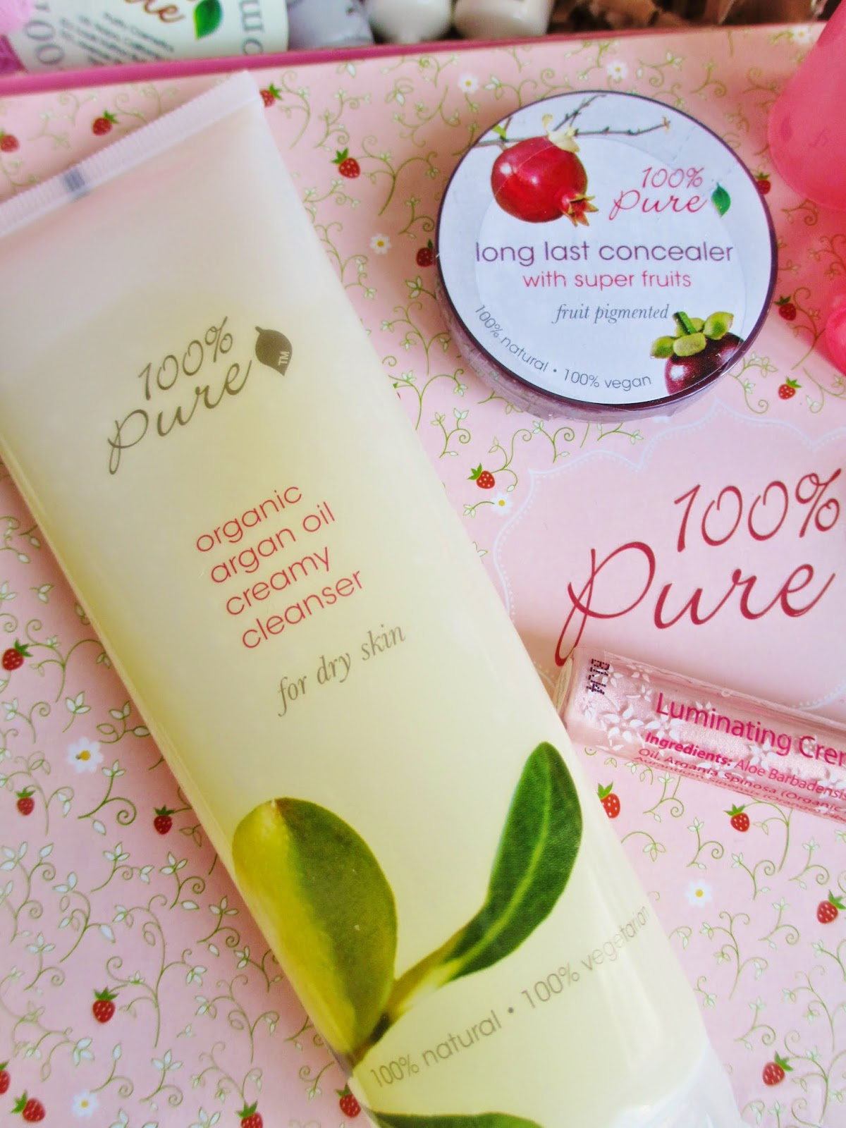 100 pure cleanser