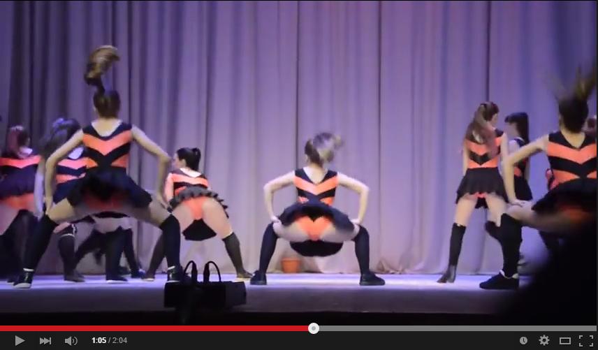 inocente chicas baile en Jaén