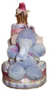 Tort din scutece elefant