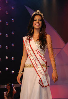 Estefani Chalco,Miss World Latin America 2011