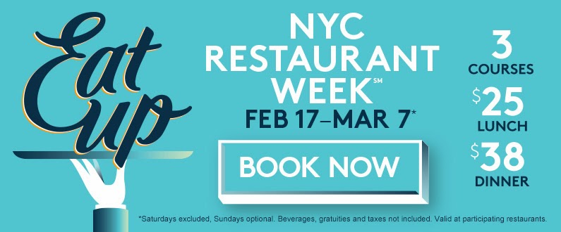 NYC, Restaurant Week, wish list, lunch, dinner, The Cecil, courses,