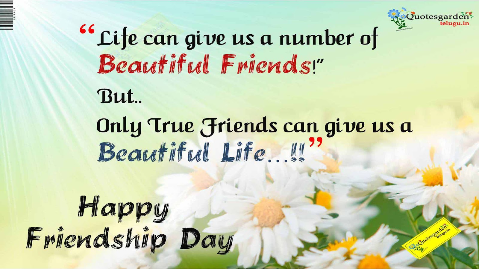 Best Friendship Day Quotes With Images In English : Best quotes for friendship day with hd wallpapers