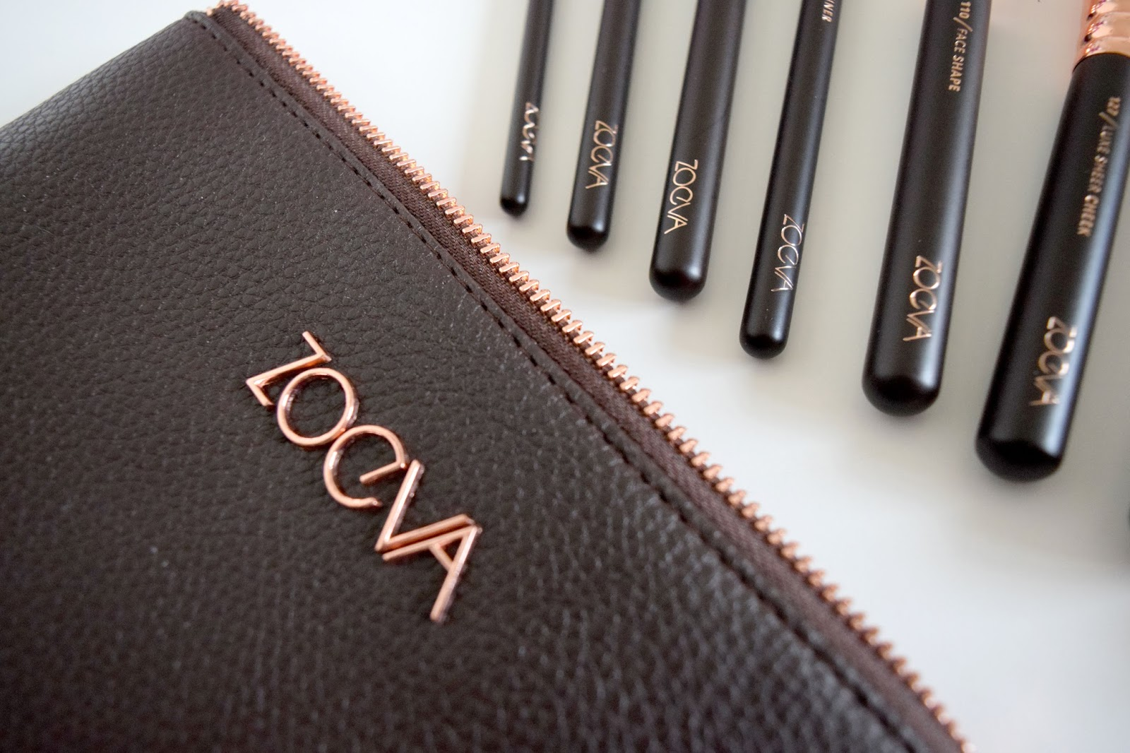 Zoeva Rose Gold Brush Set