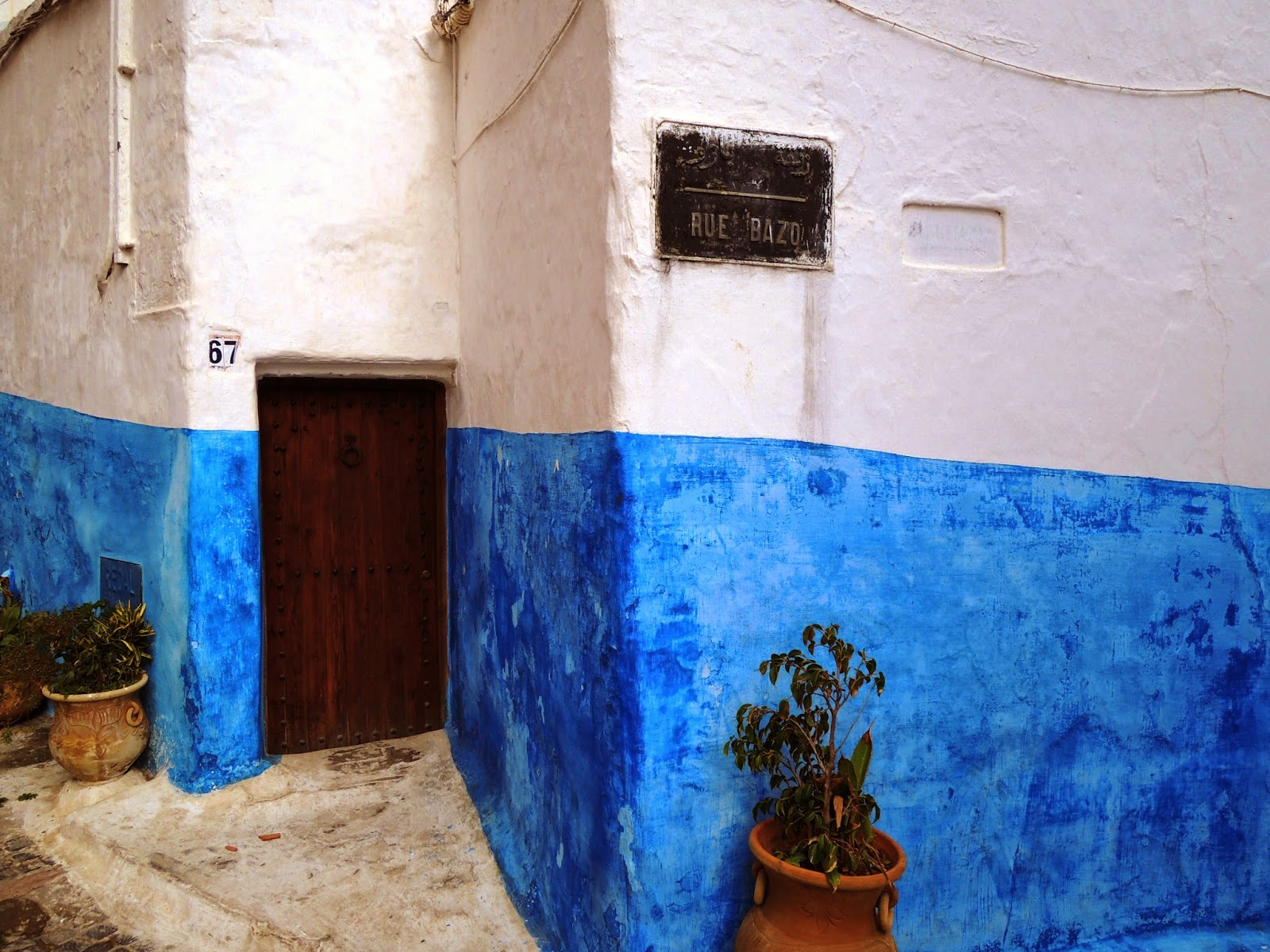 (blue