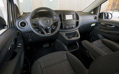2016 Mercedes Benz Metris Interior