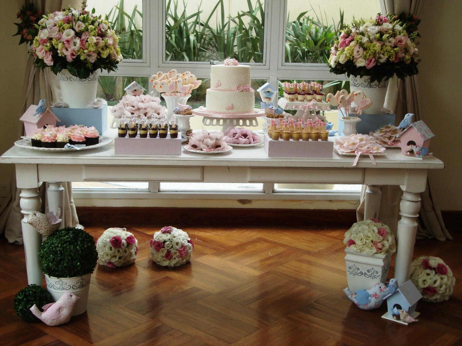 decoracao de interiores em estilo provencal: Decor Eventos: Festa de batizado romântico e provençal para menina