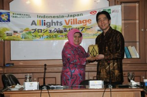 Japan–Indonesia All Lights Village Project
