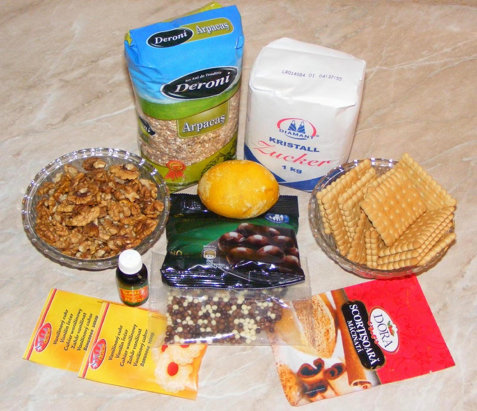 ingrediente pentru colica, cum se face coliva, cum se prepara coliva, cum facem coliva, retete si preparate culinare coliva din arpacas, reteta coliva cu arpacas, retete cu arpacas, retete dulciuri, retete prajituri, retete cu nuca,
