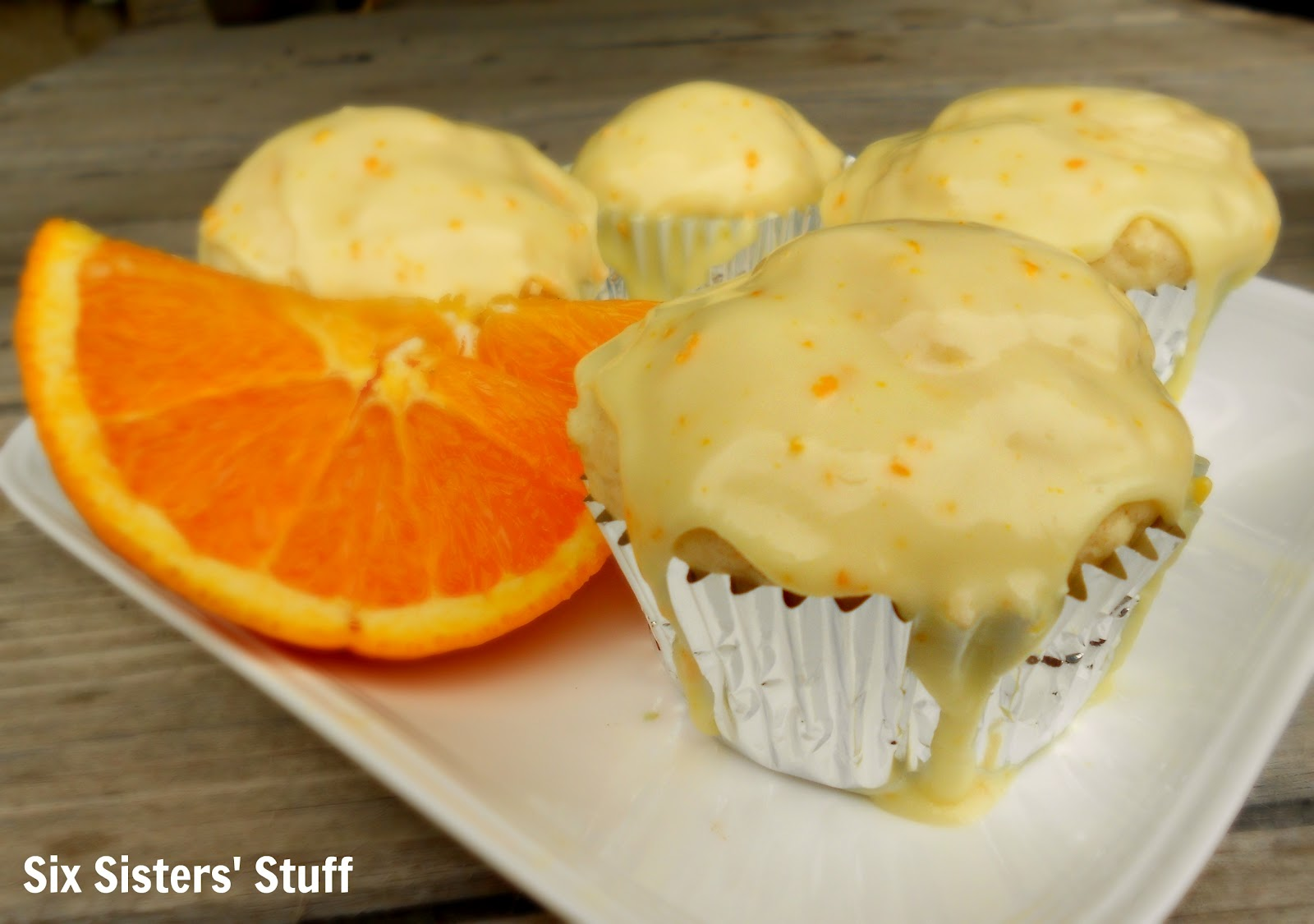 Orange Glazed Muffins / Six Sisters' Stuff | Six Sisters' Stuff