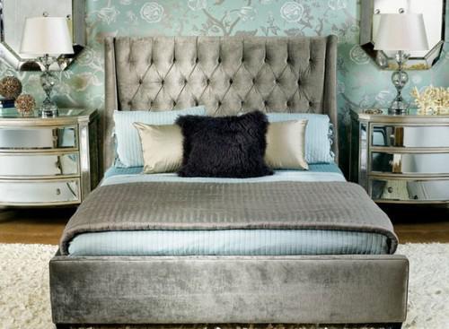 glam feminine bedroom arteluxblog: Madame Hollywood