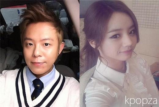 &#3639;&#3633;&#3657; Tony Ahn(H.O.T)  Hyeri(Girl&#8217;s Day) &#3633;&#3641;&#3633;&#3641;&#3656;