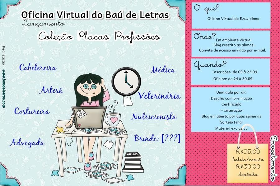 Ba de letras e v a e scrapbook oficina virtual de for Oficina virtual de