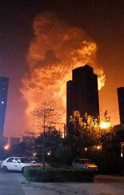 A potência das explosões foi de 21 toneladas de TNT